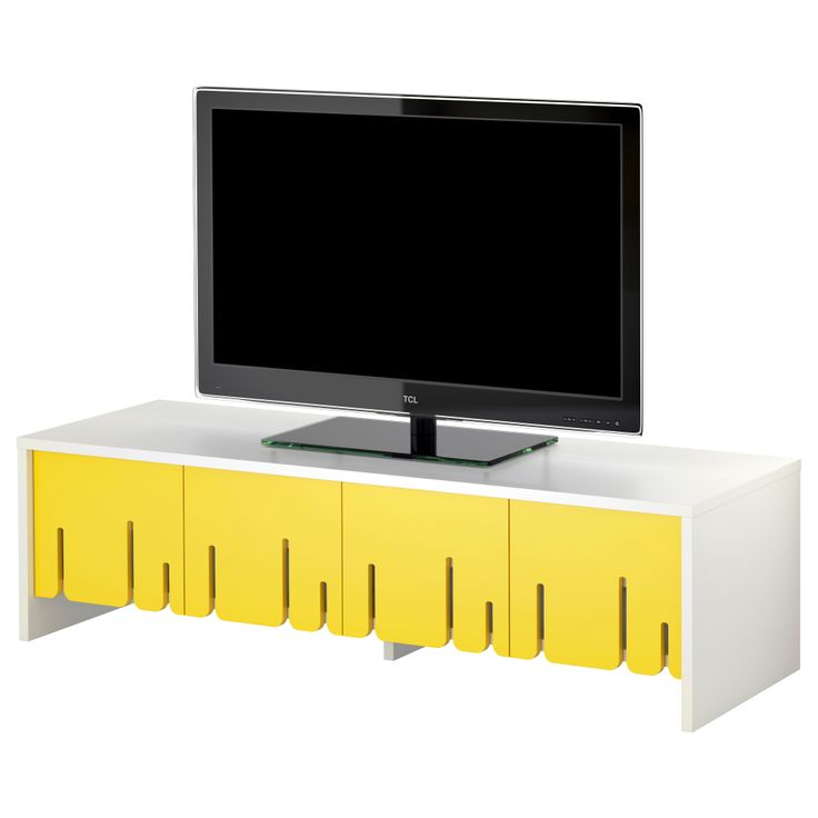 IKEA PS 2012 TV unit - yellow - IKEA.  59width, 16height.  $179.00