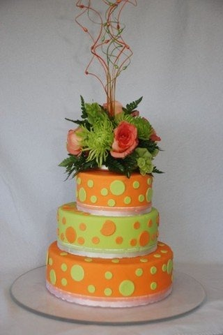 pictures of orange and green wedding cakes 1000 images about wedding theme colours green amp orange 18416