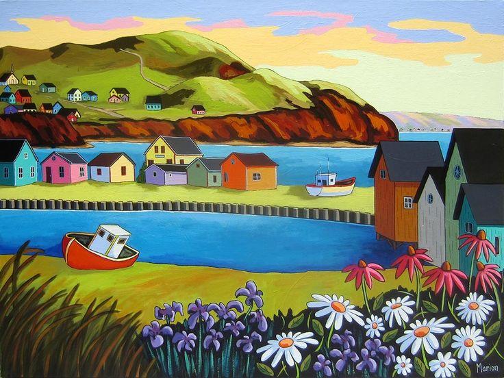 Oil Louise Marión (Artista canadiense)