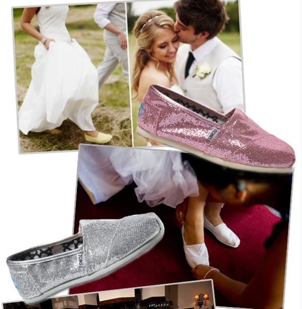 Seth and i love toms! I own the pink sparkly pair and I love them!