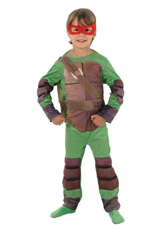 Disfraz de Tortuga Ninja™ con relleno. Disponible en www.vegaoo.es