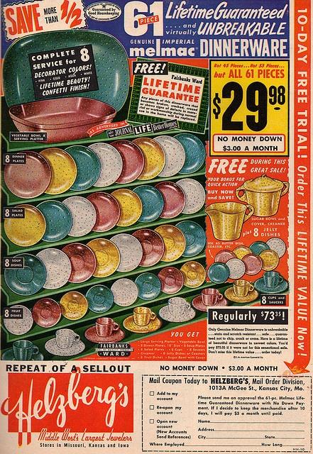 Vintage Melmac ad.  sc 1 st  Pinterest & 420 best Melamine/Melmac Dishes images on Pinterest | Dinnerware ...