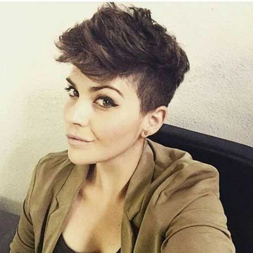 15 Pixie Cuts for Thick Hair - 13. Pixie Cut for Thick Hair                                                                                                                                                                                 More
