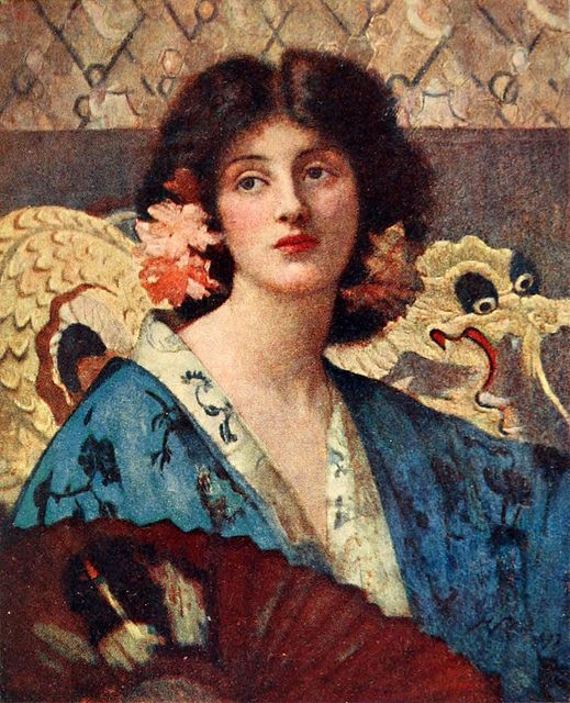 "Henrietta Rae (1859-1928), ""Azaleas"""