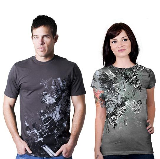 downtown cool creative tshirt designs