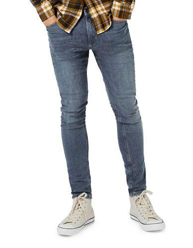 Men | Men  | Smokey Washed Spray-On Skinny Jeans | Hudson's Bay