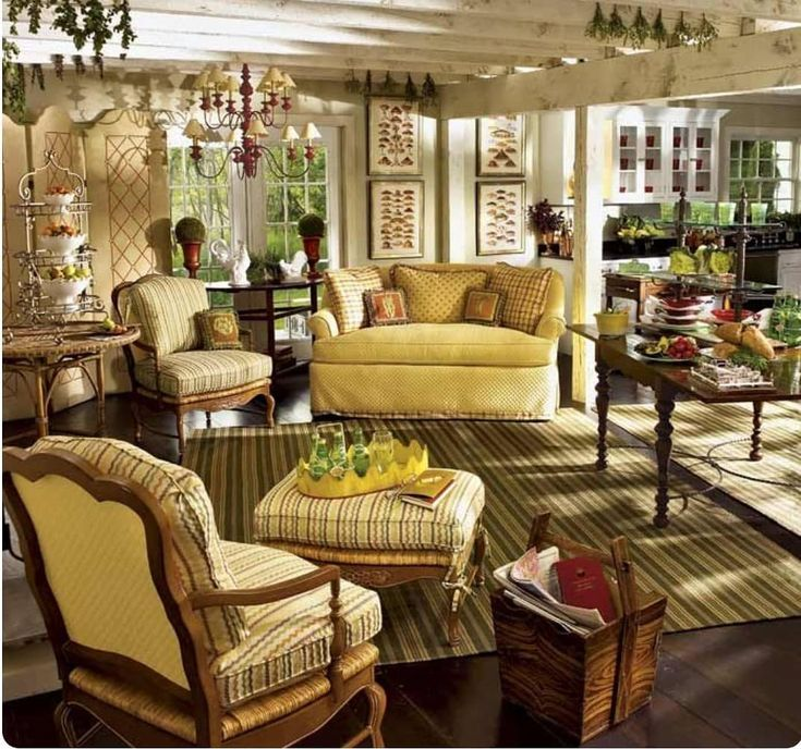 New The 10 Best Home Decor With Pictures Comfy Living Room Ideas Furnit French Country Living Room French Country House English Living Rooms