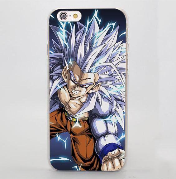 DBZ Goku SSJ5 Super Saiyan White Ape Mad iPhone 4 5 6 7 Plus Case  #DBZ #Goku #SSJ5 #SuperSaiyan #WhiteApe #Mad #iPhone7Case