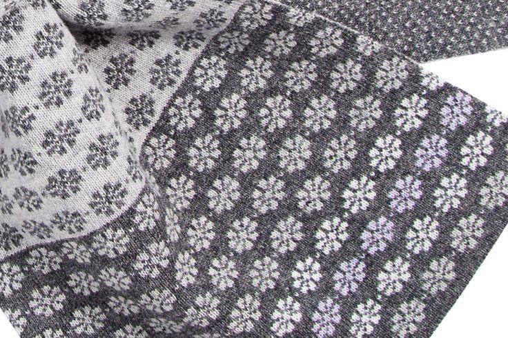 Pattern blocks and mitten proceeds   Fraser Knitwear