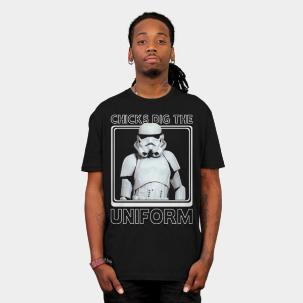 Stormtrooper Uniform T-Shirt - Star Wars T-Shirt
