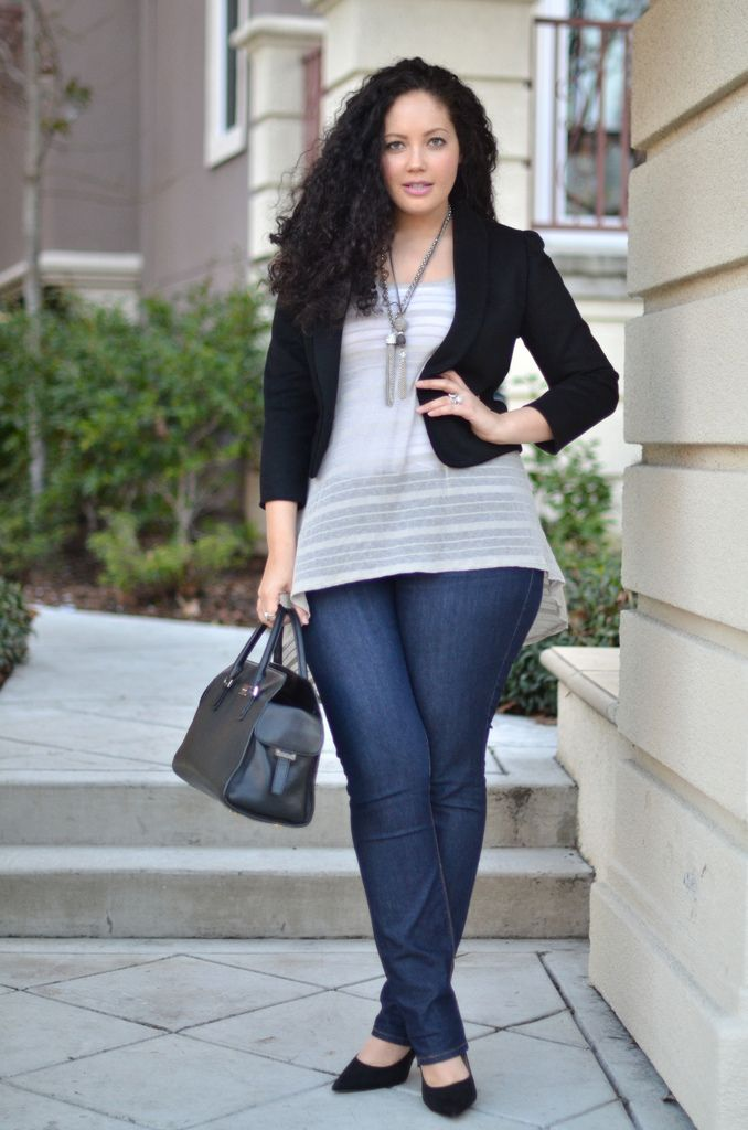 {Rock & Roll} REAL Curvy Girl inspiration from Tanesha Awasthi, her blog: Girl With Curves
