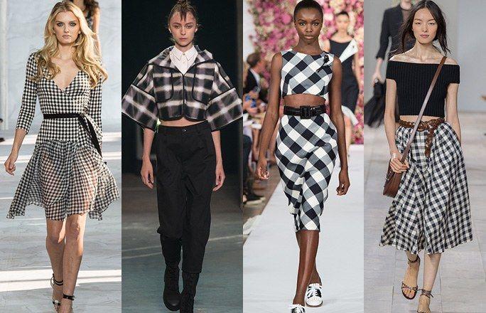 Tendenze moda primavera estate 2015: quadretti - Tendenze primavera estate 2015: la moda per la bella stagione