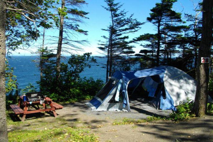 Camping Griffon | Campings Gaspé L'Anse-au-Griffon | Hébergement | Québec Original
