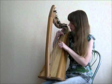 ▶ Elena and Eve - Call of Magic (Morrowind Theme) on the celtic harp - YouTube