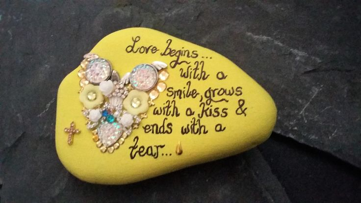 Memorial special message stone.  Click here for more memorial ideas.