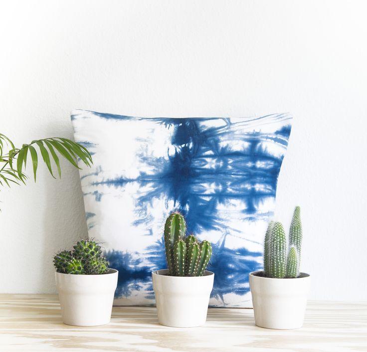 Cacti & Shibori go hand in hand