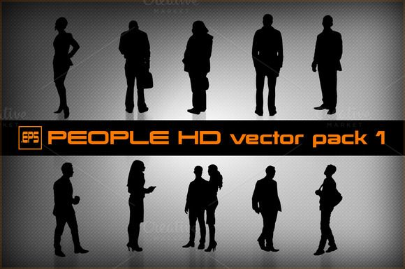 People HD vector pack 1 by stallfish's art store on @creativemarket