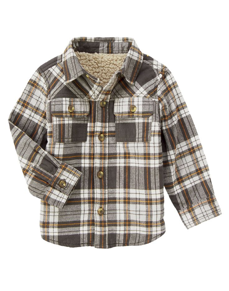 Plaid Shirt Jacket at Crazy 8 $13.99