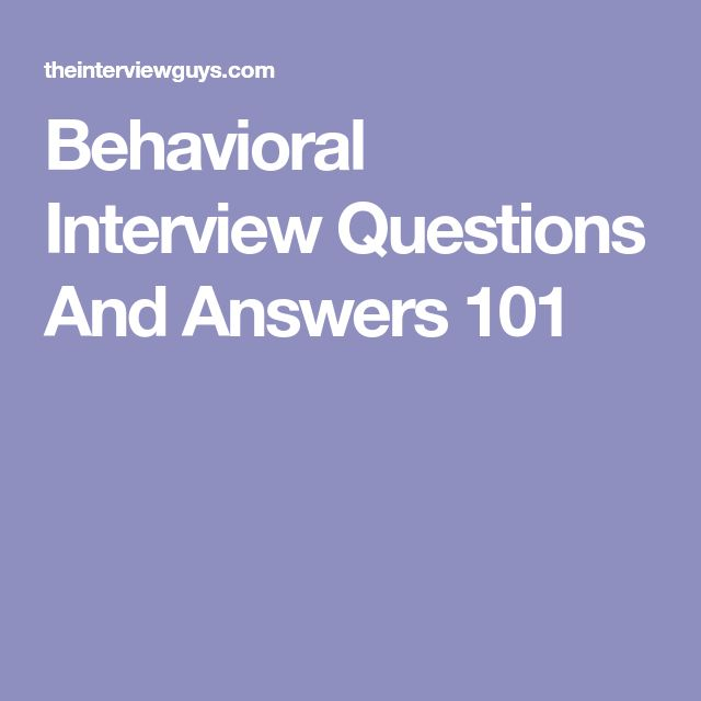 how to answer behavioral interview questions reddit
