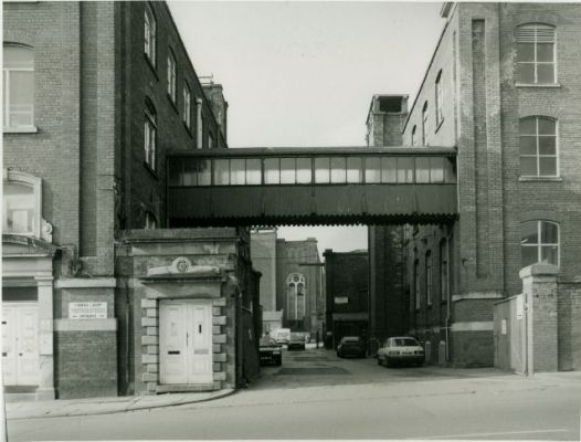 Atlas Mill entrance, Chorley Old Road Bolton, now demolished and replaced with Morrisons