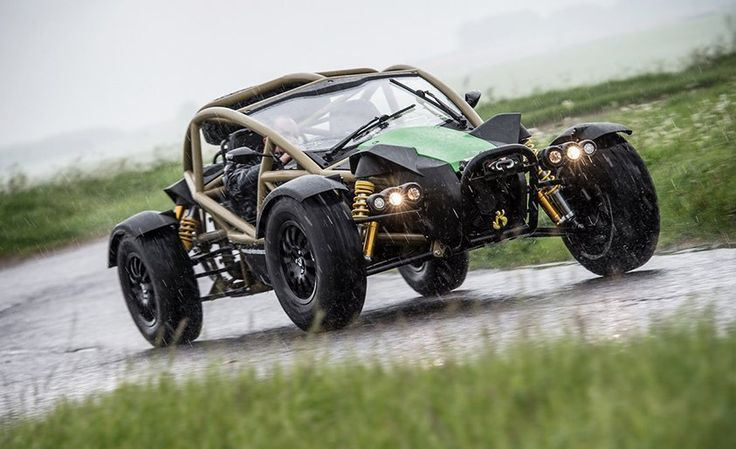 Ariel Nomad Off-Road Buggy Review: It's Fun to Be Muddy – Feature – Car and Driver