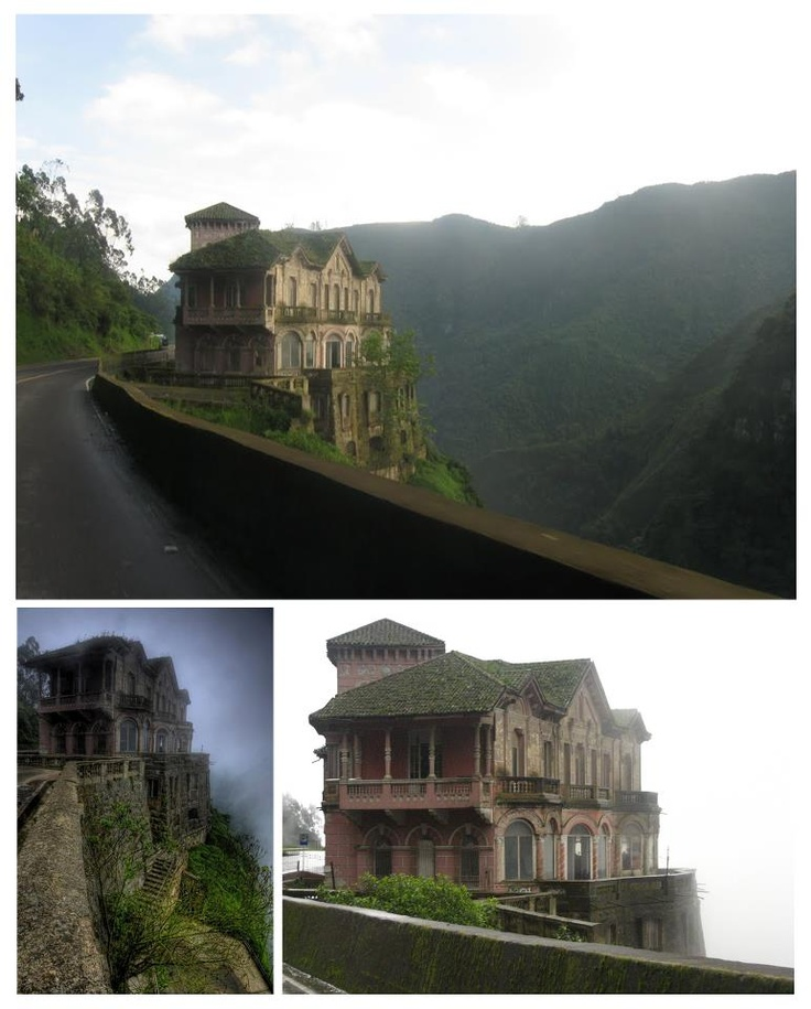 Salto del Tequendama south of Bogota in Colombia