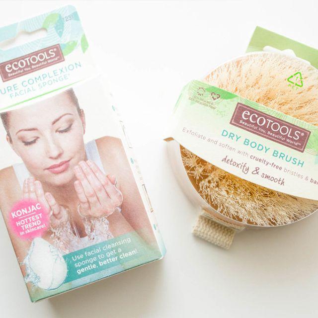 ecotools sponge brush. bubble bath essentials ecotools sponge brush r