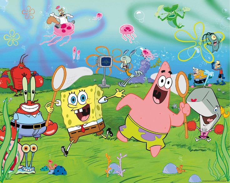 Spongebob Wallpaper is a very popular choice in boys wallpaper and whats more it is easy to apply and will look really cool in a boys bedroom