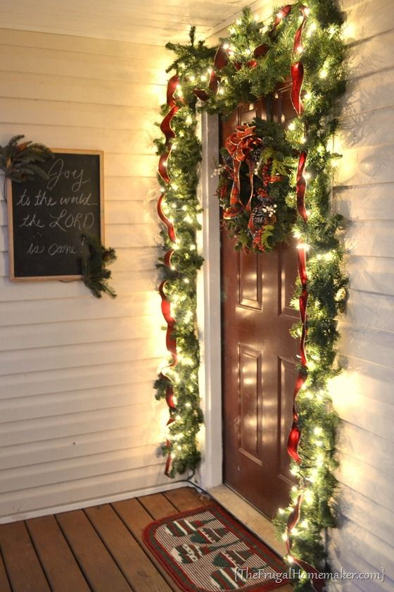 Christmas Front Porch 25+ best christmas front porches ideas on pinterest | christmas