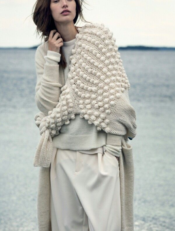 .the sweater would be a fun knit project!