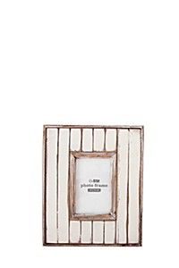 SLATTED PHOTO FRAME, 10X15CM