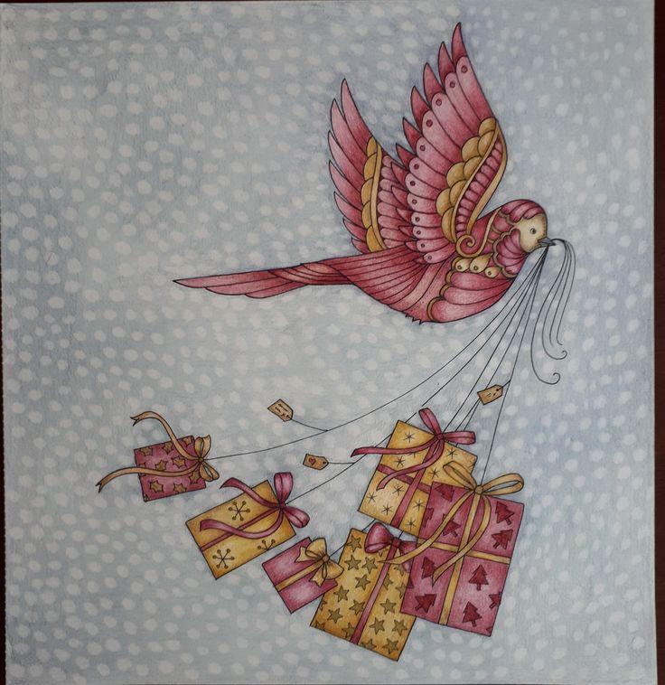 Johanna Basford-Christmas-Picture by -Gyönyi Varga.