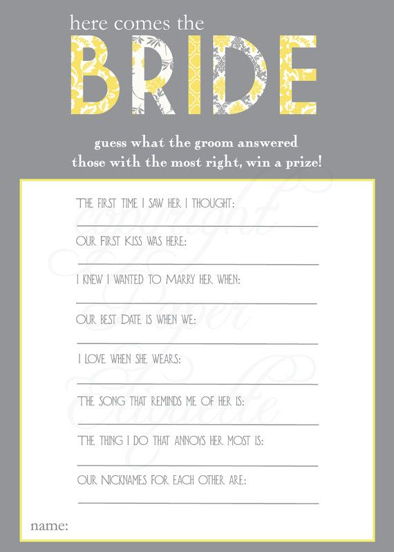 Stag and Doe Party Bride To Be Game Wedding Shower Game INSTANT DOWNLOAD Bridal Shower Game Bachelorette Game Bride Game