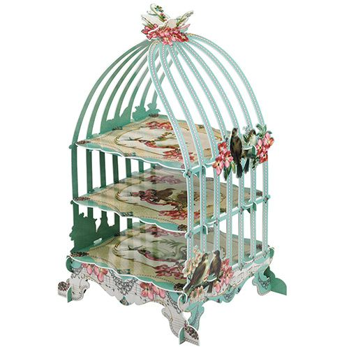 Party Ark's 'Pastries & Pearls Birdcage Patisserie Stand' £13.95 cheap for a talk about point of interest