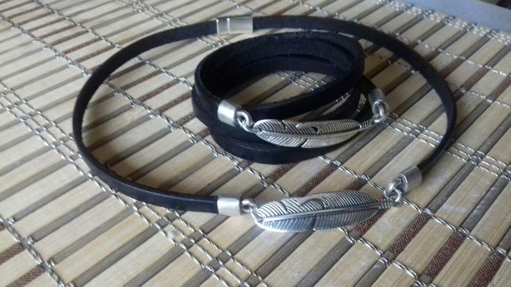 Zamak & leather
