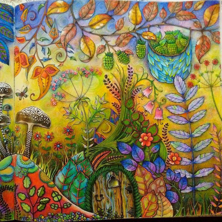 Mushrooms Landscape Enchanted Forest