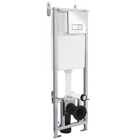 Premier Dual Flush Concealed WC Cistern with Wall Hung Frame - XTY005