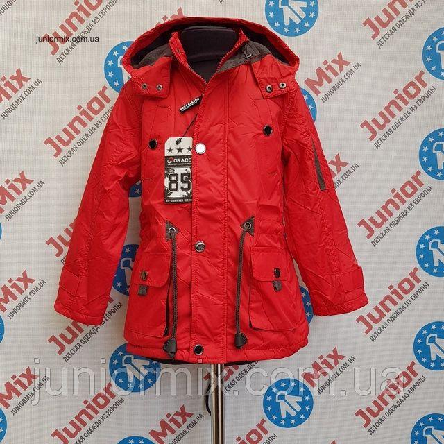 Новинки Осени 2017! #Куртка осенняя на флисе для #мальчика #GRACE #детскаяодежда #оптом #одеждаоптом