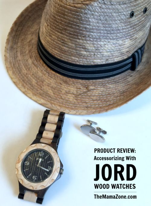 The MamaZone: Accessorizing with Jord Wood Watches | Jord Wood Watch Review #ad