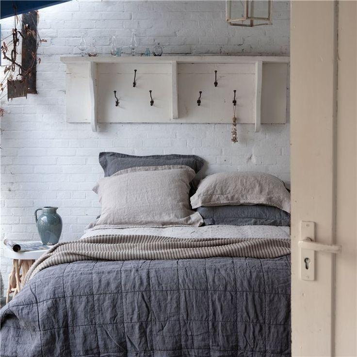 25 beste idee n over sprei beddengoed op pinterest neutraal beddengoed bed opmaken en witte - Hooi plaid ...