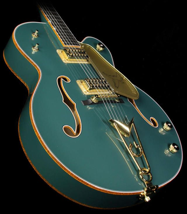Used Gretsch Custom Shop Masterbuilt Stephen Stern '59 Falcon Electric Guitar Sage Green Metallic