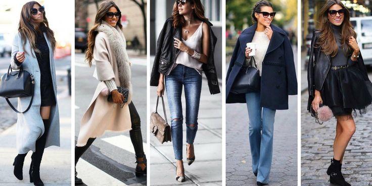 20 Modelle von Jacken und Mänteln liegen im Herbst und Winter