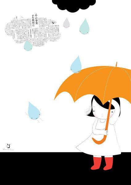 Umbrella by Laura Di Francesco