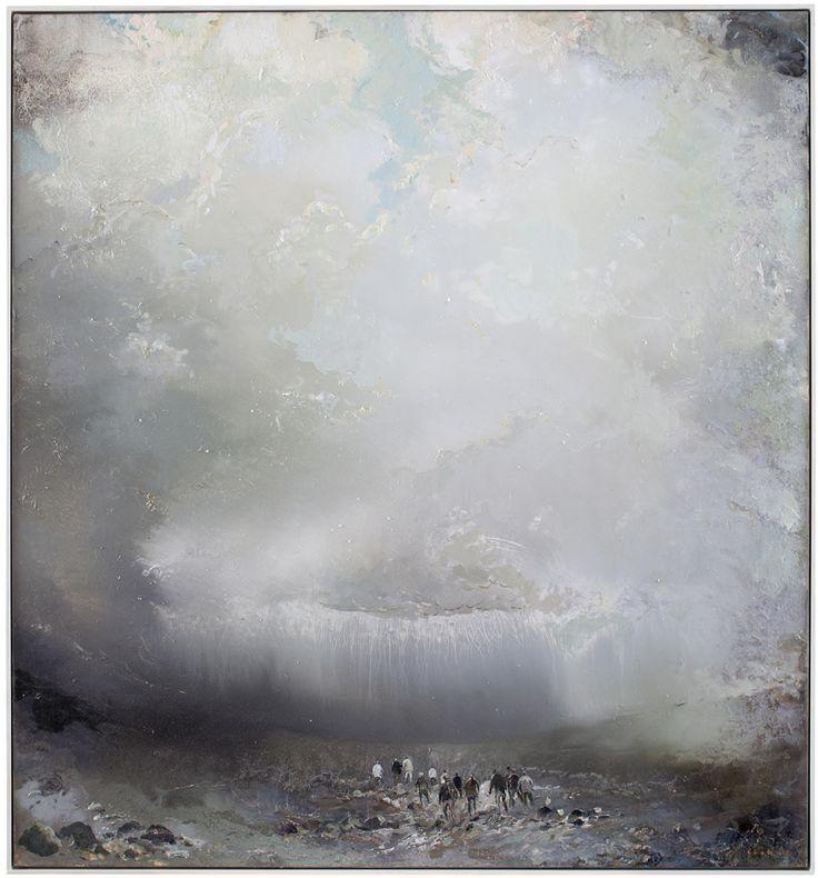 Tuomo Saali, Anabasis, oil on canvas 2012