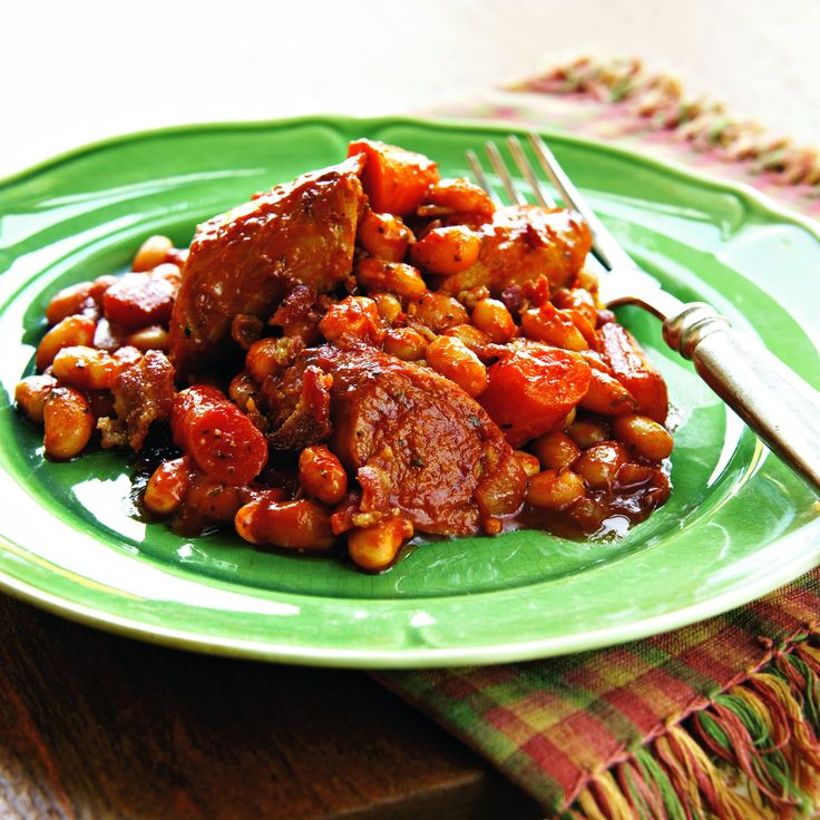 Turkey-Sausage Cassoulet http://www.prevention.com/food/healthy-recipes/healthy-low-calorie-slow-cooker-recipes/slide/18