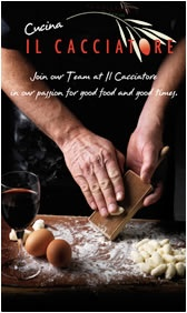 Cuccina Il Cacciatore - Cooking classes in The Hunter Valley