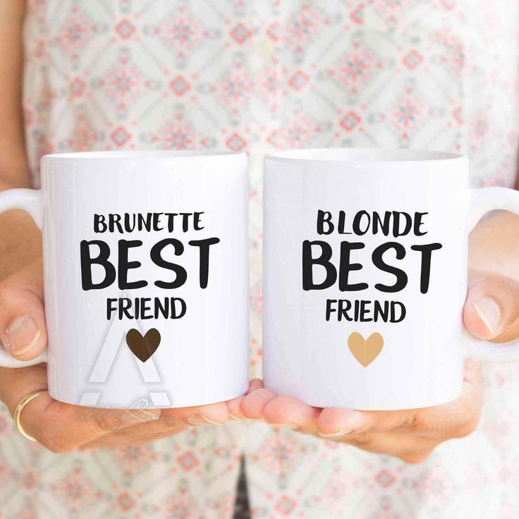 Wedding Gift Ideas For Distant Friends : ... friend coffee cups, long distance friend gift idea, wedding