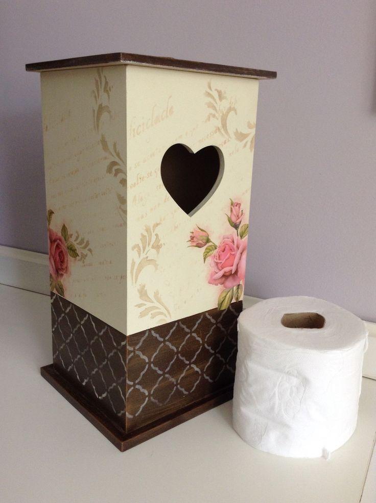 Porta papel higiênico | Ateliê da Bel.Nit | Elo7