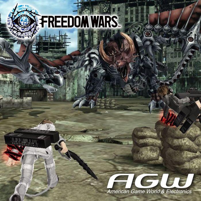 Freedom Wars para PSVITA es un título desarrollado por el estudio japonés de Sony, que combina acción con batallas. El título aspira a combinar funciones multijugador online y offline, tanto cooperativas como competitivas, para hasta ocho jugadores. Los jugadores podrán luchar en el campo de batalla e invocar monstruos gigantes para que les ayuden.