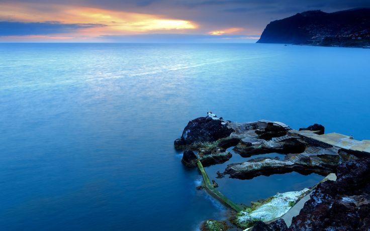 Madeira. Portuguese Island off Africa. So peaceful.